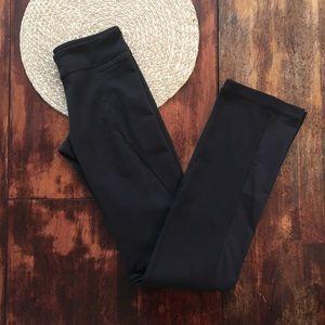 Lululemon straight leg black pants